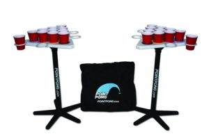 Point Pong - the kit at a tailgate party