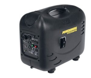 Powerhouse gas powered generator for tailgate parties
