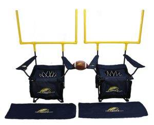QB54 combo chairs and football toss game