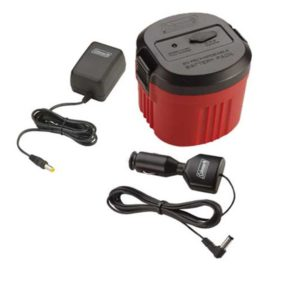 Best tailgate party - Coleman power pack replaces batteries