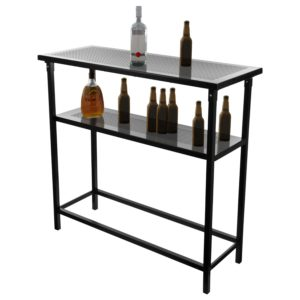 Skeleton of Lakers portable bar