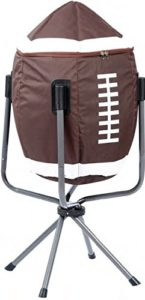 Tailgate Party gadget - football shaped cooler