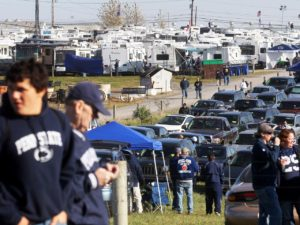Tailgate parties at Penn State