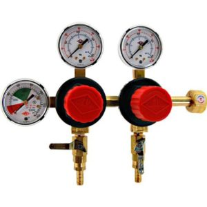 Taprite regulator for kegerator