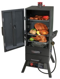 The Landman Smoky Mountain Gas smoker
