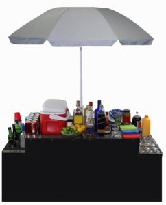 World Outdoor Products Professional Portable Folding Bartenders' Table